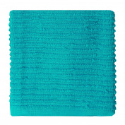MUkitchen 100% Cotton Ridged Dishcloth, Aquamarine - 30cm x 30cm