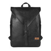 Koolertron Vintage Synthetic Leather Laptop Backpack Laptop Bag Satchel Bags School Rucksack Casual Daypack