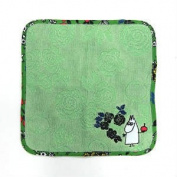 """Marushin Moomin mini towel """"summer doodle"""""""