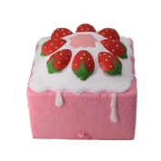 Food Squishy Toys HOMEBABY 12cm Strawberry Cake Bread Squishy Slow Rising Cream Scented Decompression Toys Fun Toy Kids Toy Christmas Gifts