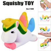 Toamen Newest Cute Kawaii Unicorn Squishies Toy Slow Rising Relieves Stress Soft Toy for Children and Adult Toy gift
