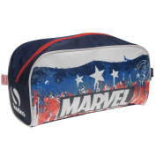 Sondico Captain America Boot Bag Rd/Wh/Bl Football Soccer Rugby Sports Shoe Bag One Size