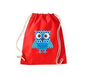 ShirtInStyle Gym Sack bag cult bag Owls Owl