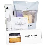 Jason Markk Men's Repel Spray, Essential Kit, Shoe Brush and Shoe Wipes White