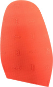 VIBRAM LADIES DESIGNER SOLE REPLACEMENT- Red Louboutin Stick on sole-standard shape