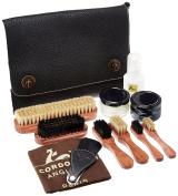 La Cordonnerie Anglaise Wax Shoe Instant Nomand Case, Black