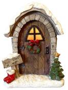 Christmas Elves Workshop Fairy Door