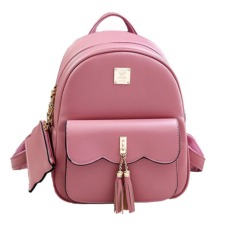 c80ac31f0267 Women Vintage Tassel Backpack Handbags