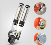 Multi-functional Stainless Steel Professional Tin Manual Can Opener Craft beer Grip Opener Cans Bottle Opener kitchen gadgets