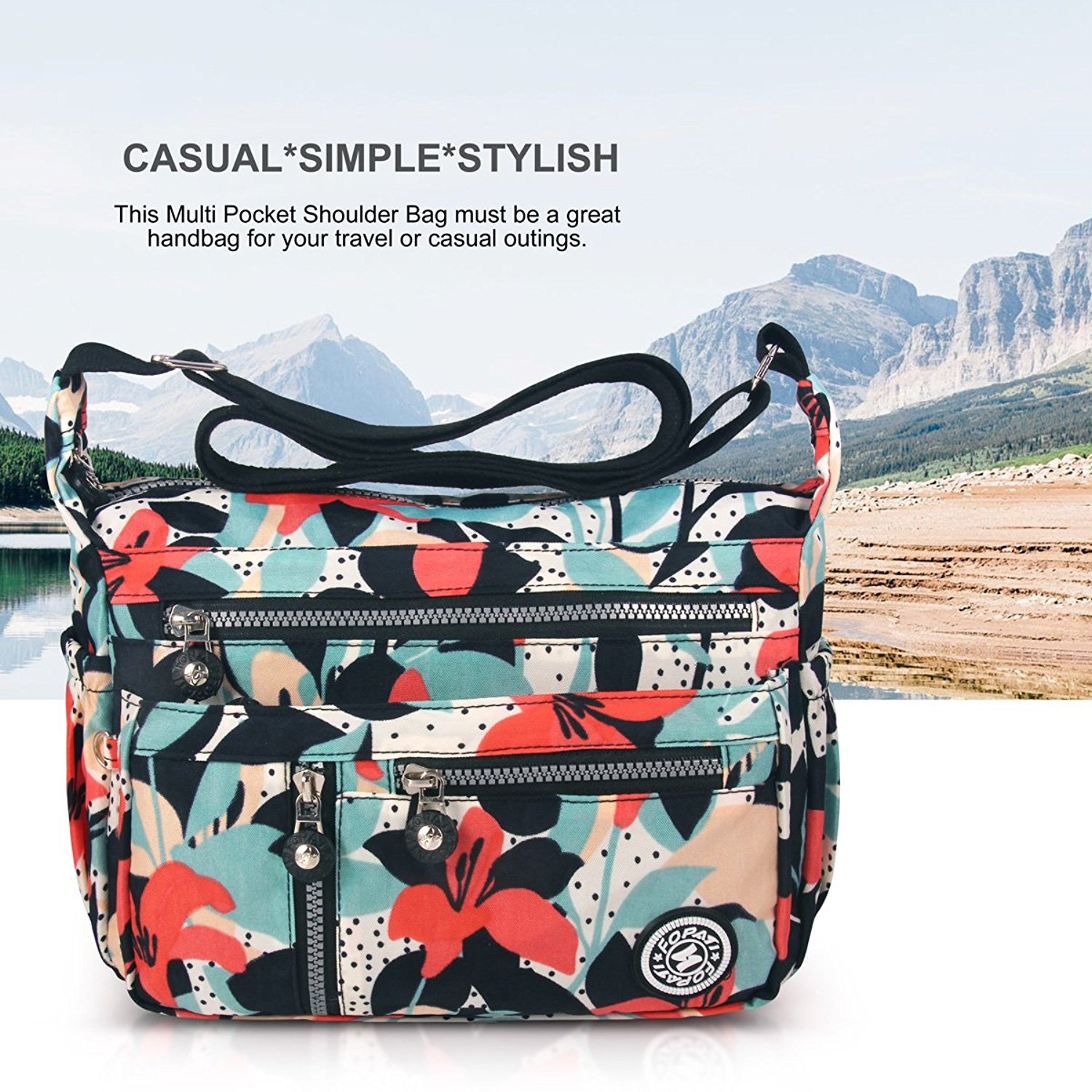 3babca5a9229 Share this product. Sign Up for Fishpond s Best Deals Delivered to You  Every Day. Go. ABLE Women Anti Splash Water Shoulder Messenger Crossbody  Bags