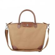 BEKILOLE Women's Stylish Waterproof Tote Bag Nylon Travel Beach Crossbody Bags for Women