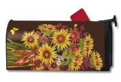 MailWrap Sunflower Bouquet Standard Mailbox