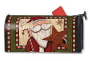 MailWraps Santa with Star MailWrap Mailbox Cover 00126