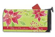 MailWraps Christmas Flower Mailbox Cover 03315