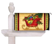 Magnetic Mailbox Cover Welcome Sleigh