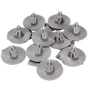 Alamor 10Pcs Wheel Arches Trim Clips Fasteners For Bmw R57 R56 R55 R53