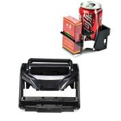 Alamor Multifunctional Car Drink Beverage Holder Phone Sundry Stand Bottle Stand Black