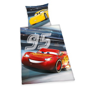 Herding Disney Cars 3 4429428064 Bed Linen Cotton, 210 x 160 cm
