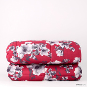 Printed Quilt Bucaneve 2 seats red