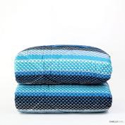Quilt Laurent – 2 Seater, Blue