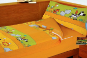 Animals Zoo Stay-On Bed of 90 cm