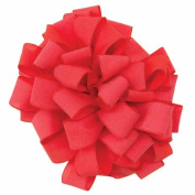 Offray Heathered Craft Ribbon, 3.8cm by 25-Yard, Red/Coral
