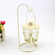 Love lovers candlestick European classical crafts Christmas decorations Couple candlelight dinner Home garden ornaments wedding-B 5.1cm x 23cm