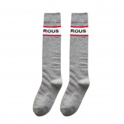 Women Socks Winter,MamumWomen Letter Print Socks Ladies Girls Cotton Warm Soft Sox Dark Grey /Black /Grey / White