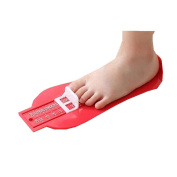 Child Baby Foot Growing Shoe Size Measure Tool Ruler Infant Device Shoe Size Ruler Kit