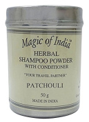 Magic of India Fragrance Sampoo Herbal Powder with Conditioner - Select Fragrance