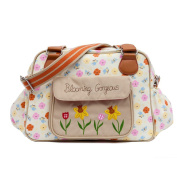 Pink Lining Blooming Gorgeous Baby Changing Nappy Bag - Pansies