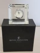 Royal DoultonCrystal Mantel Clock S/S