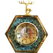 Edge to table Clock European-style Table Clock, Clock Ornaments Creative Home Bedroom Bedside Mute Clock Pendulum Clock Decoration