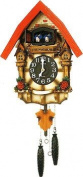 Rhythm 4 mj236br06 – Clock Cucú, Wood, 32.3 x 54.5 x 16 cm, Brown Red