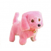 Sonnena Music Light Cute Robotic Electronic Walking Barking Pet Dog Puppy Kids Toy Christmas Gift