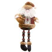 Covermason Christmas Decorations Santa Claus Sitting Porcelain Snowman Christmas Ornament
