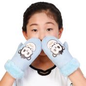 Baby Girls full finger gloves,Vovotrade® Winter Cute cartoon pattern Gloves