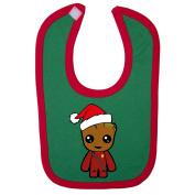 Christmas Groot Inspired Baby Bib
