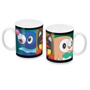 Pokemon Sun & Moon Starters Mug