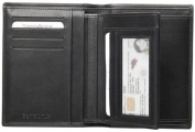 SAMSONITE BENCHMARK NAPPA LEATHER WALLET PURSE CARD HOLDER NIGHT BLACK NEW