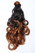 Beauty Works Ombre Wrap Around Ponytail Clip in Drawstring Synthetic 46cm