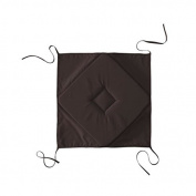 Deco 100%, 4 Corners Seat Cushion, Cocoa