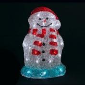 Light Up Snowman 2D Bigoulo LED, Cool White