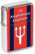 28 Engineer Regiment British Army Flip Top Lighter