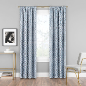 Eclipse Curtains Eclipse Single Window Curtain, Robins Egg Blue, 90cm x 240cm