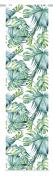 Home Fashion Jungle Green Fabric Panel Blind 245 x 60 cm