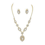 Sparkly prom party bridal diamante clip on earring set