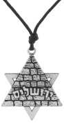 Jewish Symbol Star of David Egyptian Pyramid Necklace Jewellery for Men Women