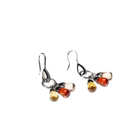 Colourful Zirkoniabesetzte Silver Earrings