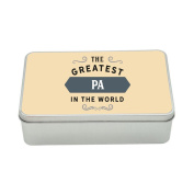 Pa Gift, Greatest Pa, Perfect Pa Christmas Present or Birthday Tin
